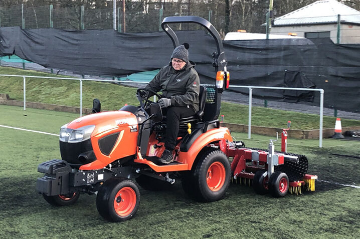 Afbeelding bij Switch to in-house maintenance with Redexim proves a win-win for Bonnyton Thistle FC