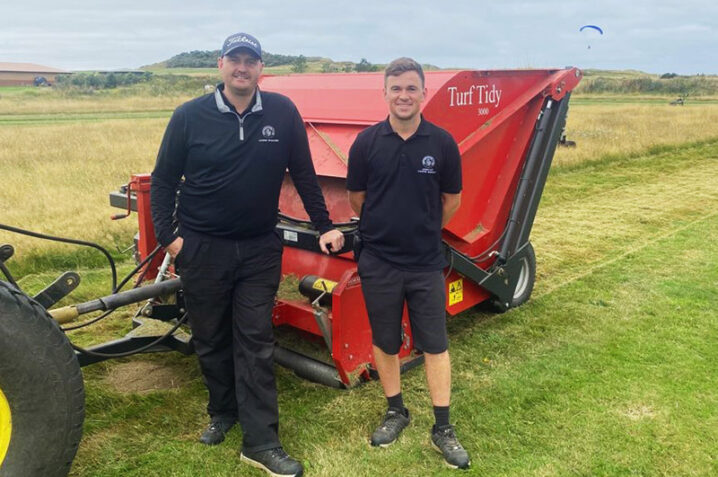 Afbeelding bij Redexim proves the perfect partner for renovations at Sheringham Golf Club